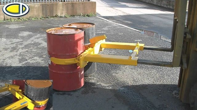 Drum Attachment for Forklift