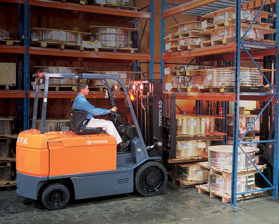 Forklift Battery Maintenance Handling Best Practices Toyota Forklifts