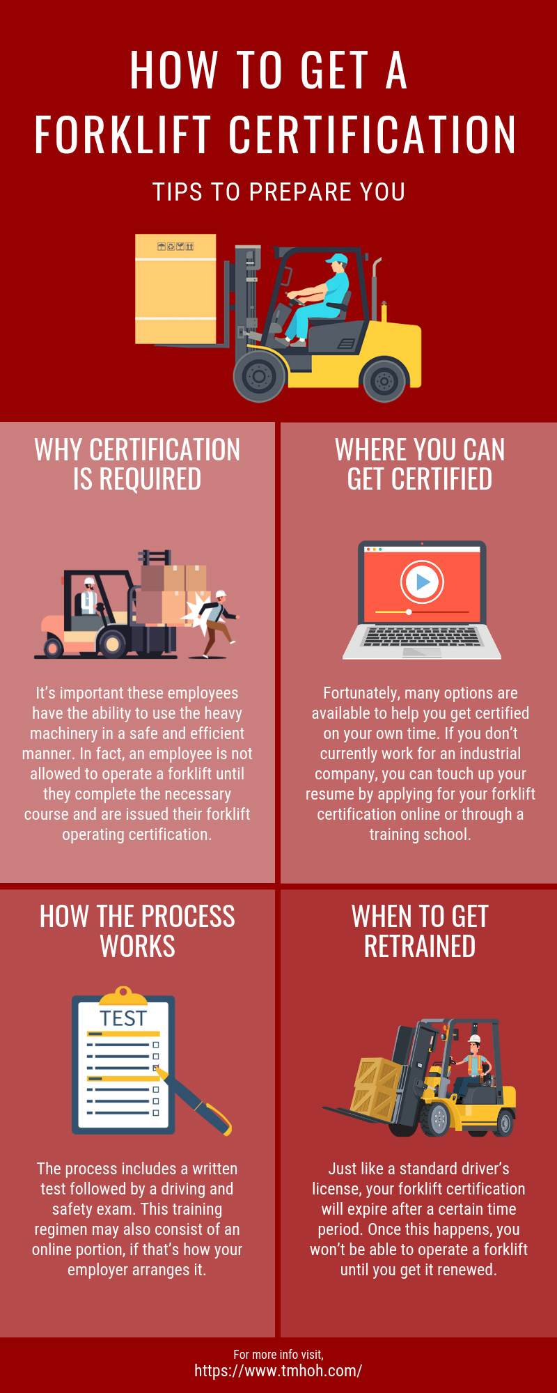 How To Get A Forklift Certification Tips To Prepare You