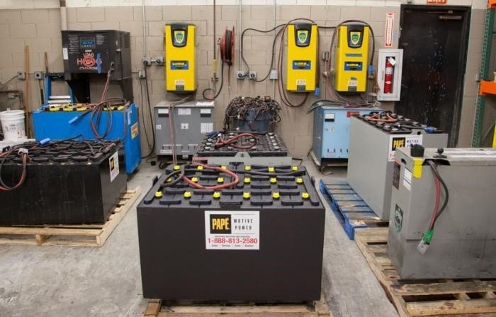 Forklift Battery Maintenance Guide Pape Material Handling